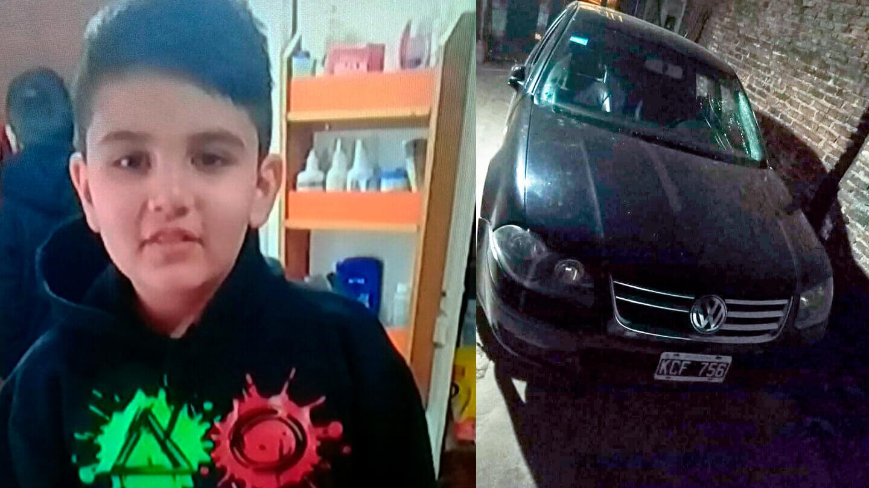 Nahuel Correa de 23 años fue el que atropelló a Mateo Sosa de 9 cuando iba a la escuela