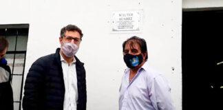 Homenajearon a Walter Suárez, el Inspector de Tránsito que falleció por coronavirus