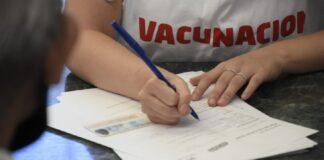 Vacuna en Morón
