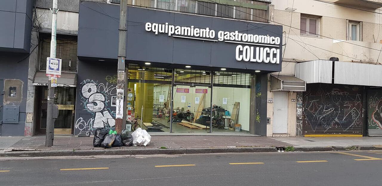Equipamiento Gastronómico Colucci Morón se agranda