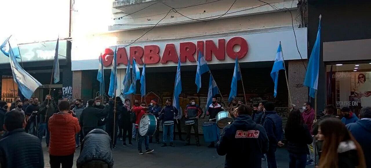 Presta de los trabajadores de Garbarino