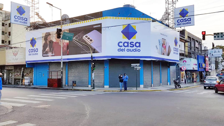 Morón: La Casa del Audio reemplazará a Garbarino