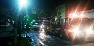 Ahora: Incendio en Haedo sobre Emilio Castro entre Suipacha y Libertad