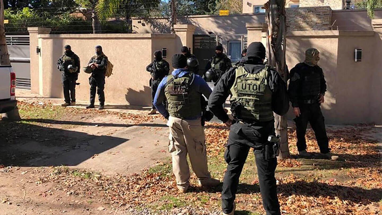Ituzaingó Parque Leloir: Detuvieron un Jefe narco y a siete integrantes de su banda