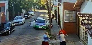 Patrulla de Morón Tercera frenó un robo en la Avenida Zeballos y La Cautiva