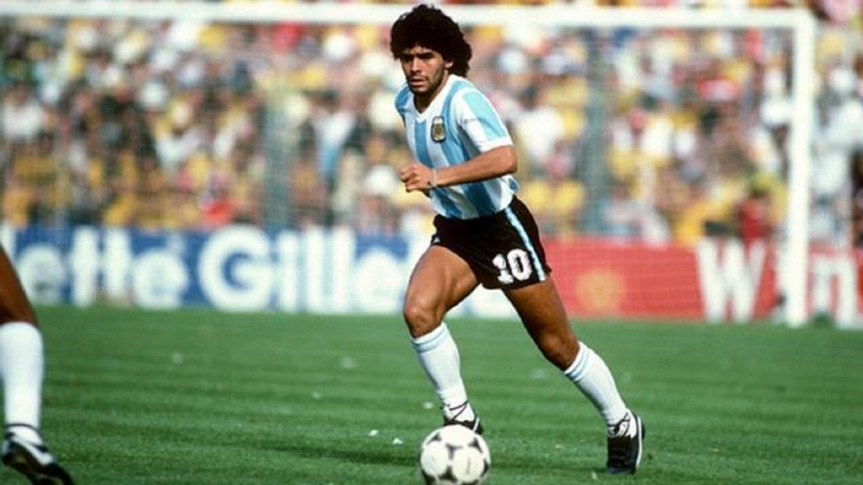 Maradona en Hurlingham