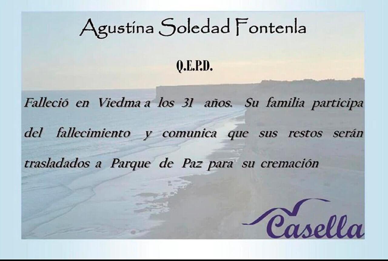 Murió de coronavirus Agustina Fontenla, la ex participante de Bake Off