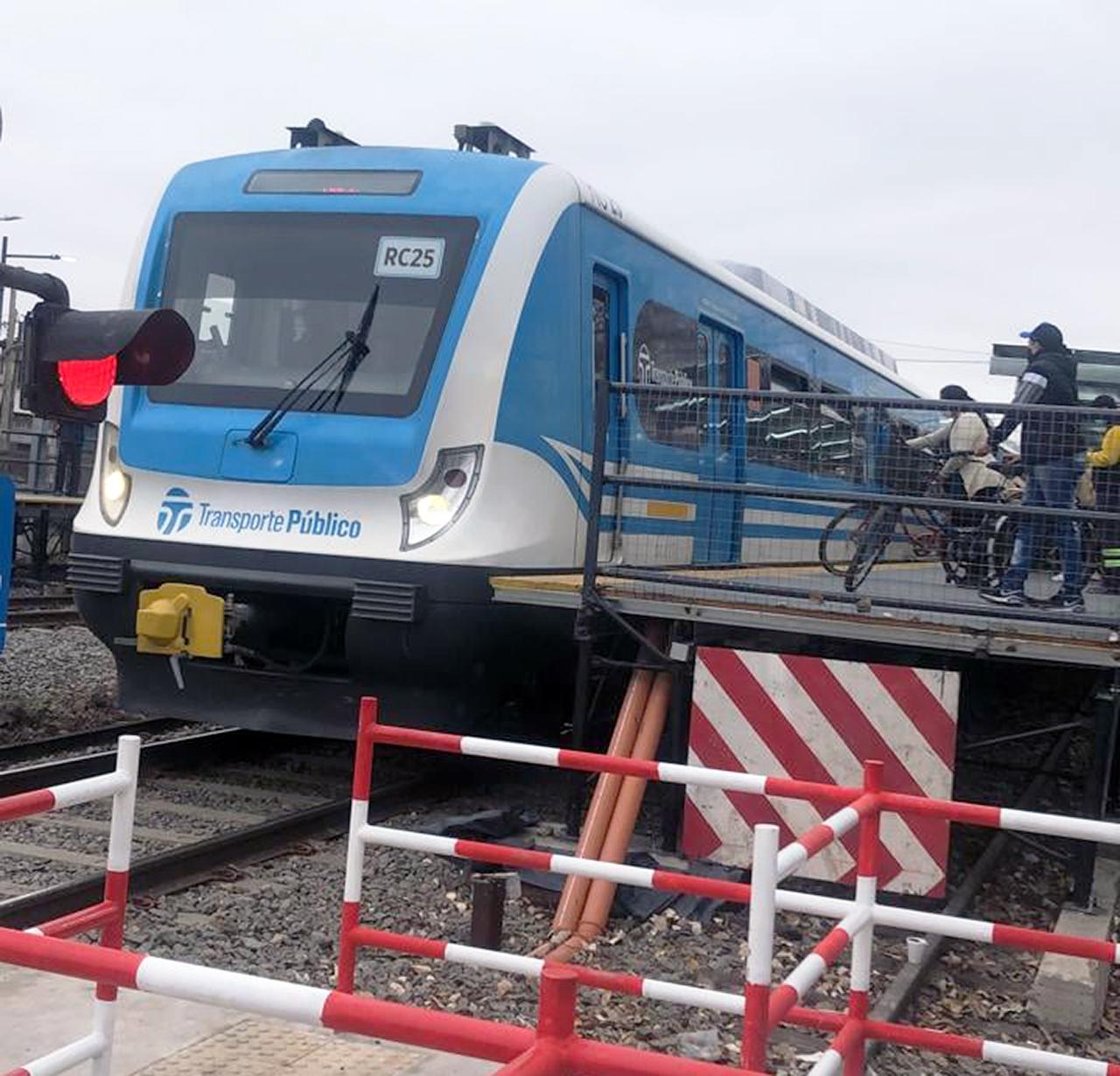 Hoy en Ituzaingó comienzan a funcionar los andenes provisorios