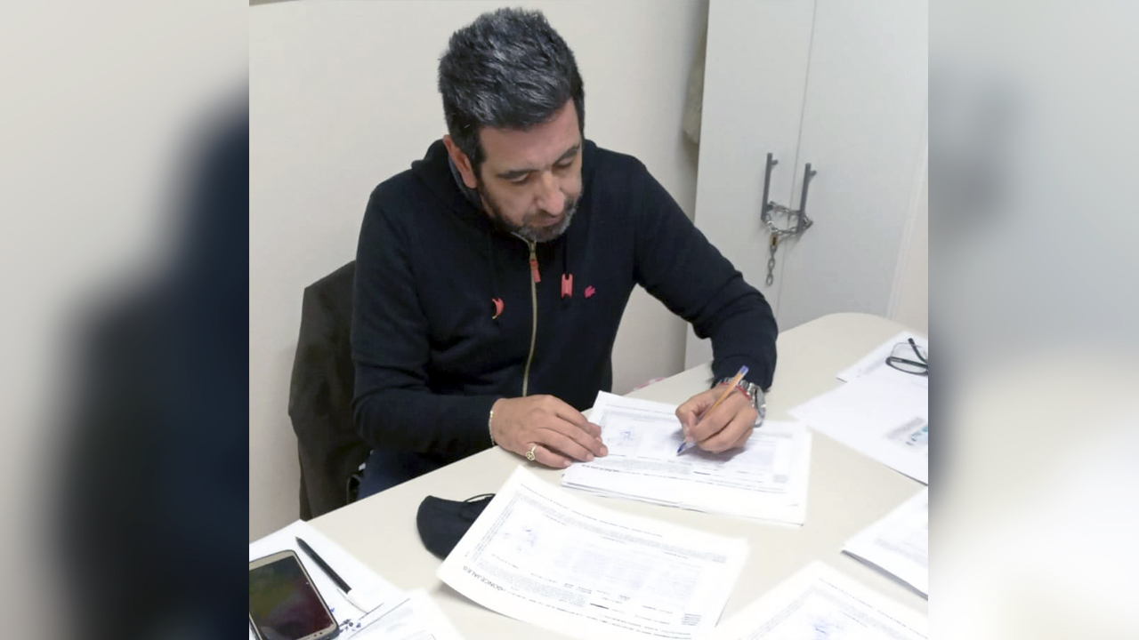 Morón Walter Anzorena también presentó lista en Juntos para el Cambio