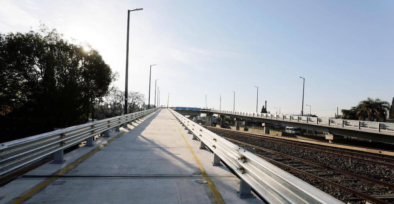 se inauguraron los puentes modulares de Ituzaingó