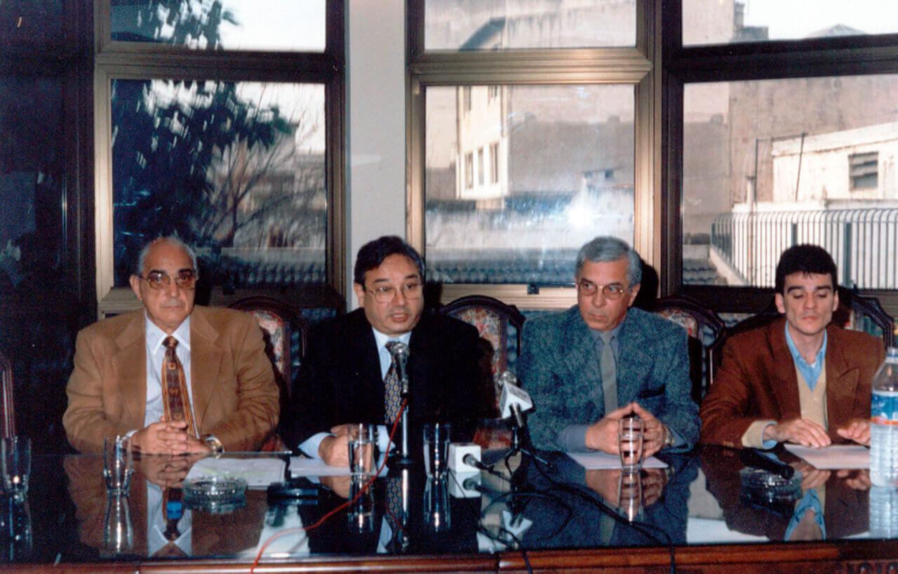 1988 - Roberto Maldonado, Horacio Román, Guillermo Crespo y Juan Zabaleta