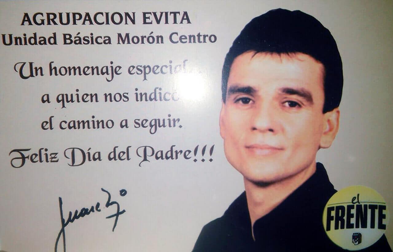 2003 - La Foto de Campaña en las Tarjetas del Día del Padre
