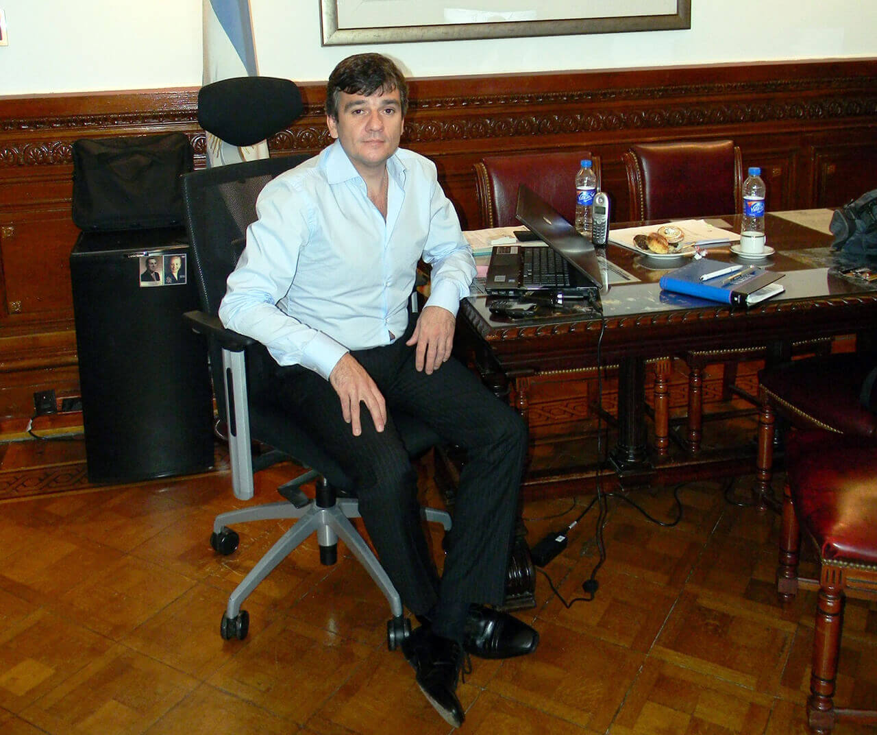 2013 - Juan Zabaleta en la Cámara de Senadores de la Nación