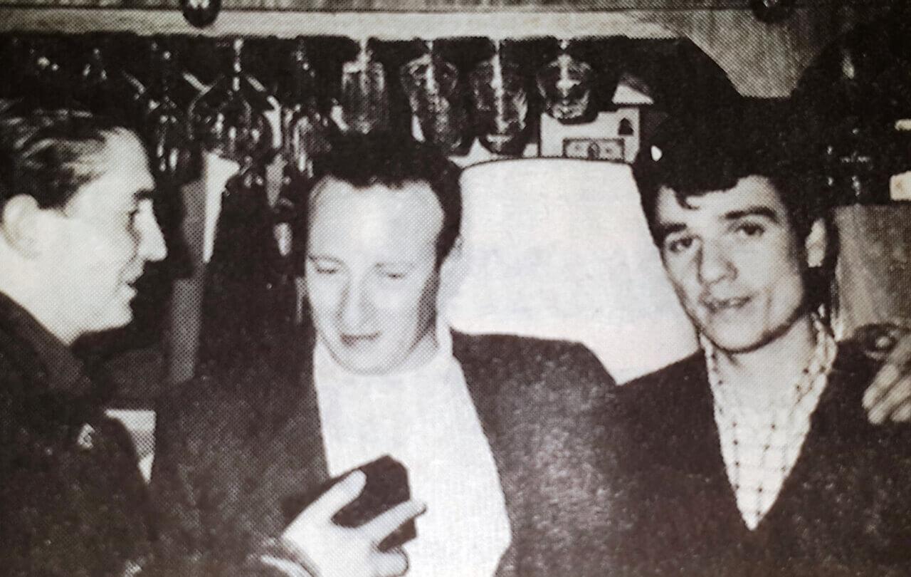Los '90 - Con Luis Patita Minervino en el mítico Restaurant Altos del Oeste de Ituzaingó