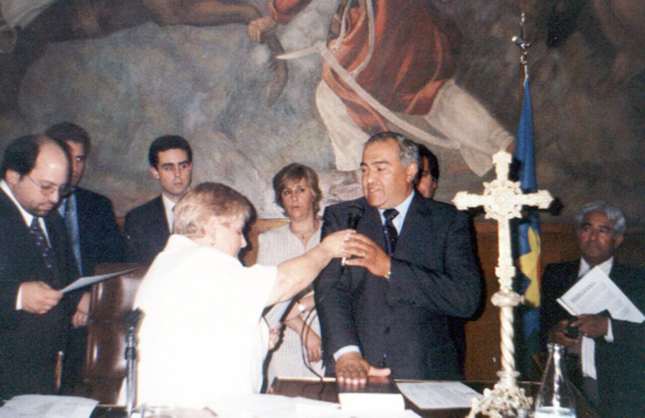 Murió Carlos Barquero, Concejal Mandato Cumplido y padre de Gabriel
