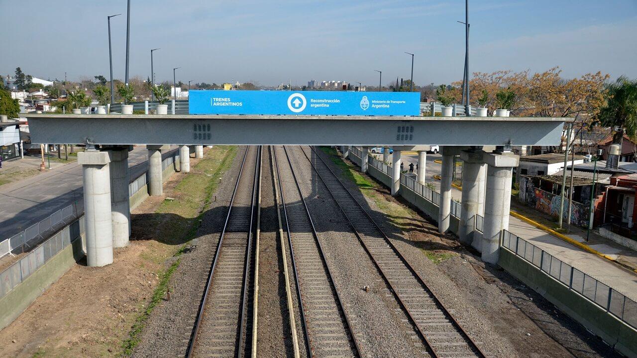 Se inauguraron los puentes