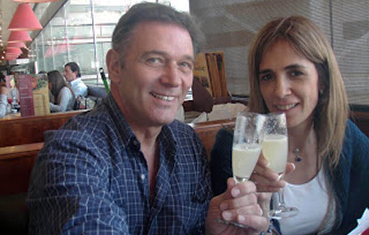 La temprana muerte del exitoso locutor Jorge Rossi por cáncer
