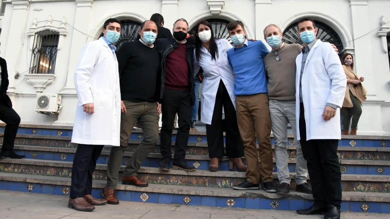 Un médico del Hospital Morón asumió como Director Asociado del Instituto de Haedo