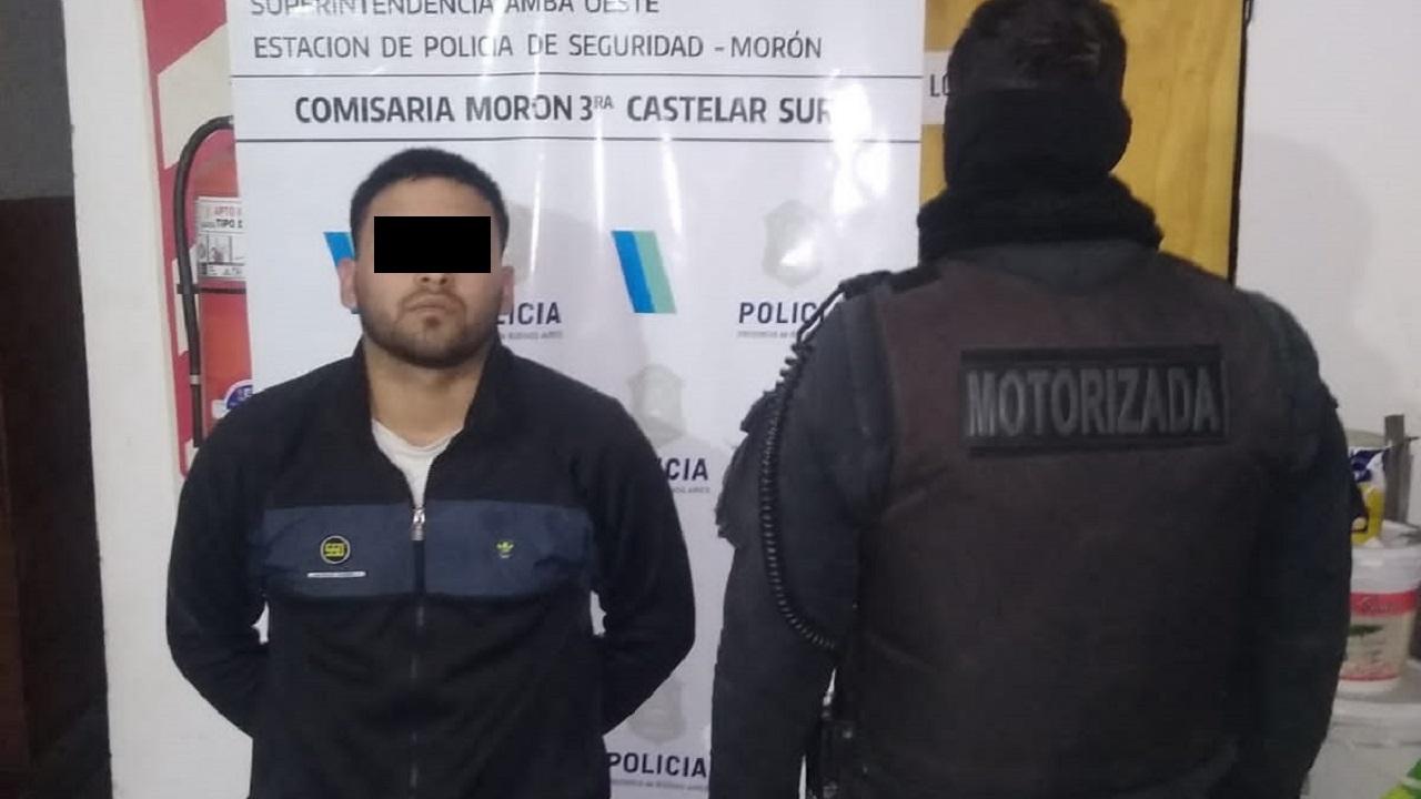 Persecución y dos detenidos