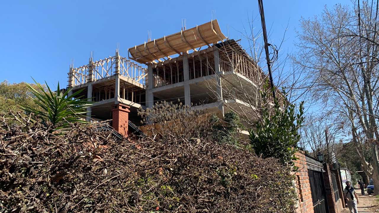 Hurlingham: El edificio Roca
