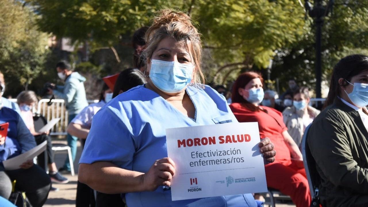 180 trabajadores de salud