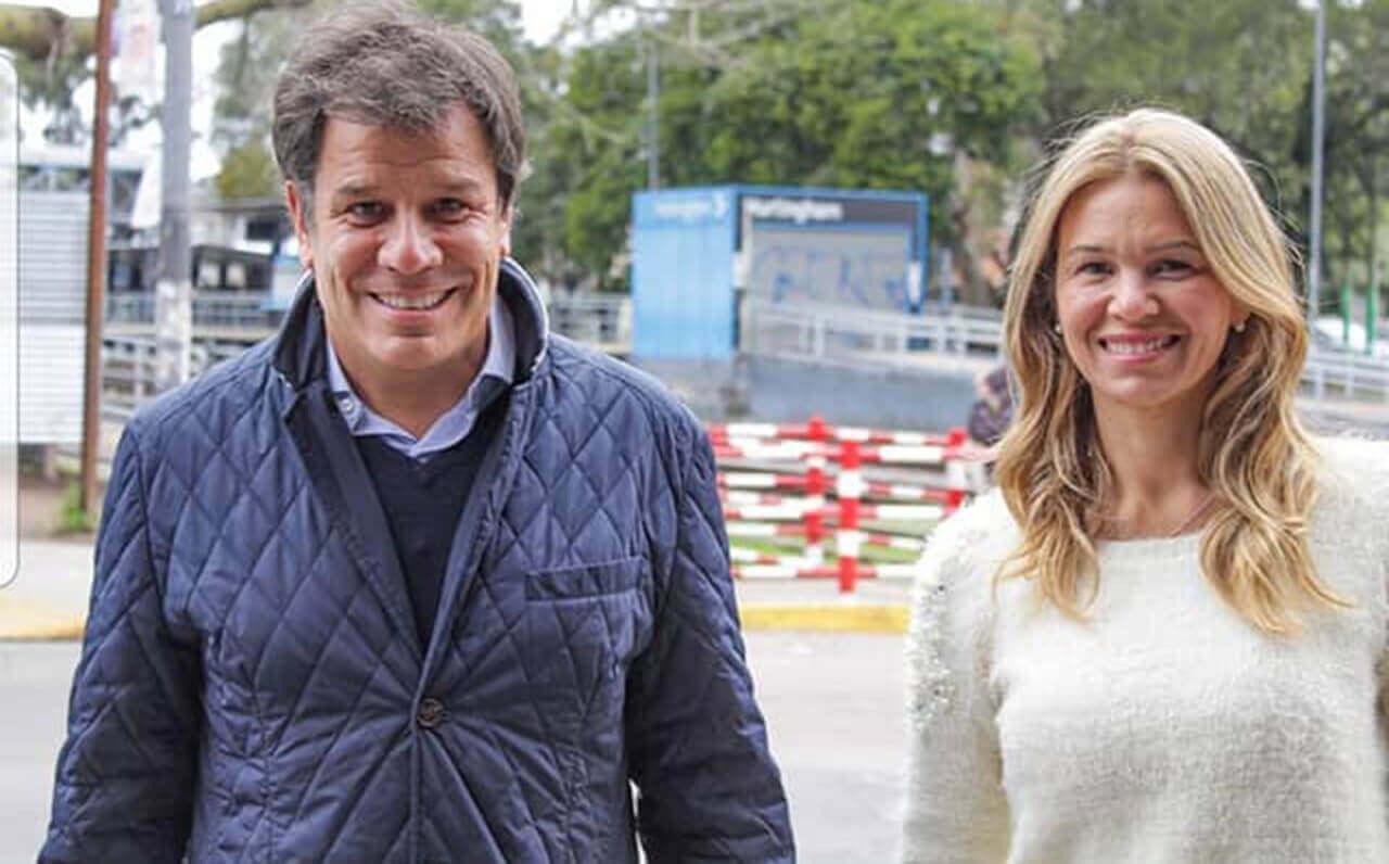 Andrea Giorgini y Facundo Manes en Hurlingham