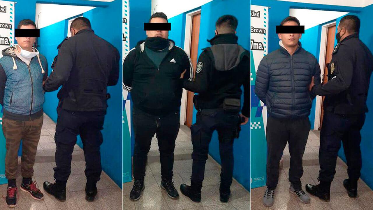 Detuvieron a tres miembros de Gendarmería Nacional